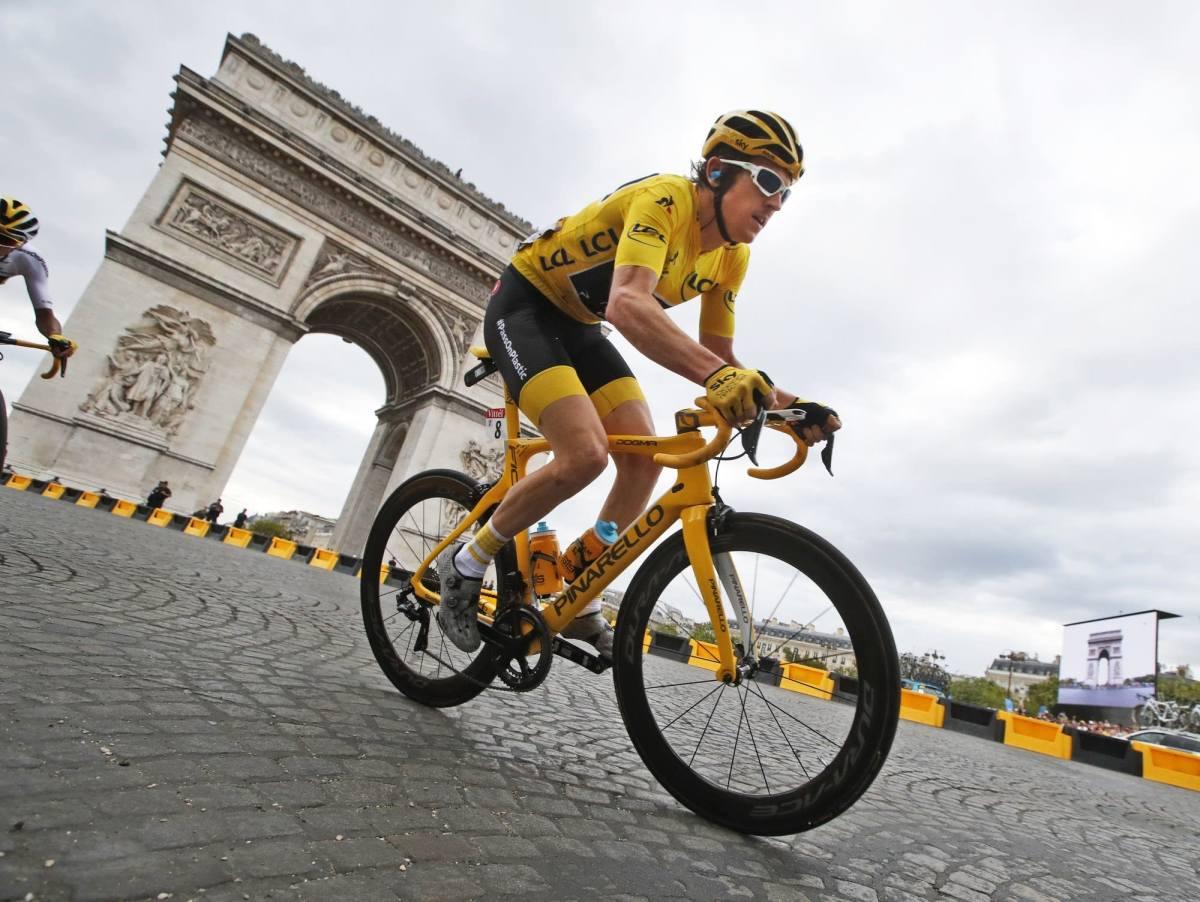 Geraint Thomas' Tour de France trophy stolen – The Post